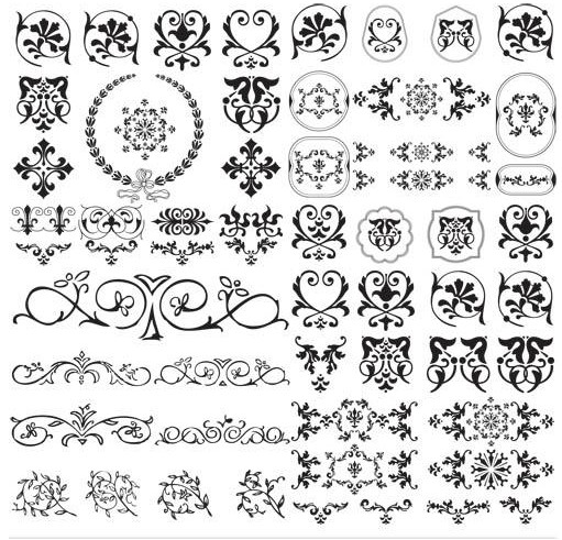 Design Floral Ornaments vector