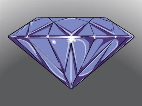Diamond Icon vector graphic