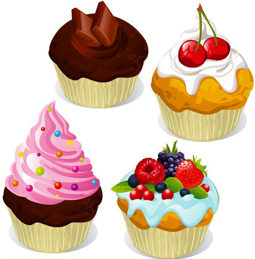 Different Cakes 2 vector