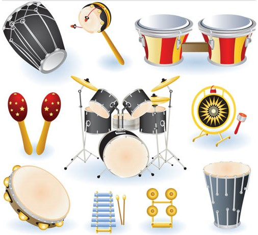 Different Drums vectors