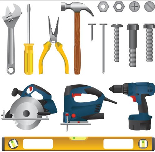 Different Instruments vector