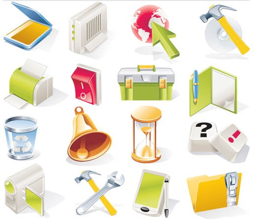 Different Tools Vector