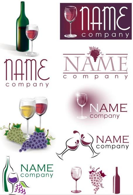 Different Wine Logo vector