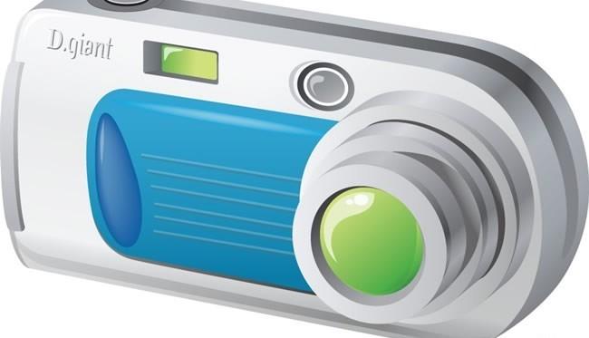 Digital camera Illustration vector