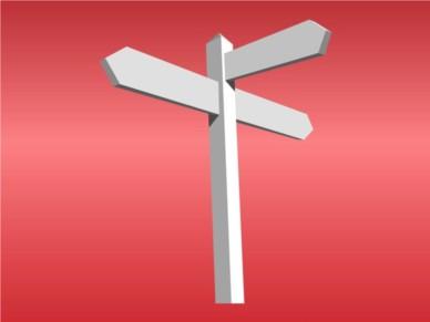 Directional Arrows vector design