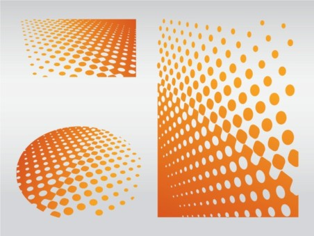 Dot Patterns background vector
