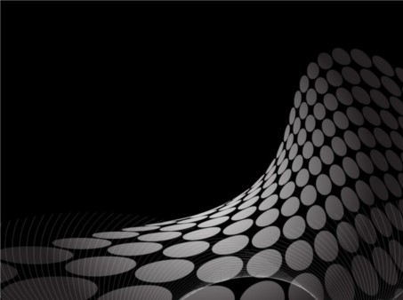 Dot Wave Background vectors material