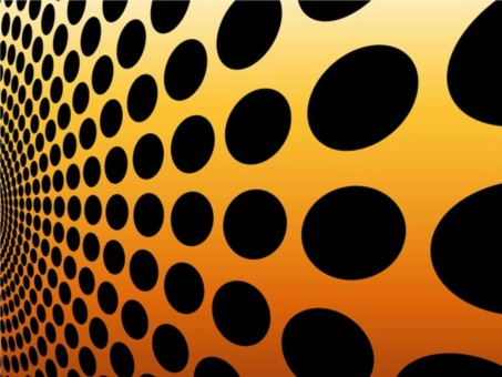 Dots Decorations vector background