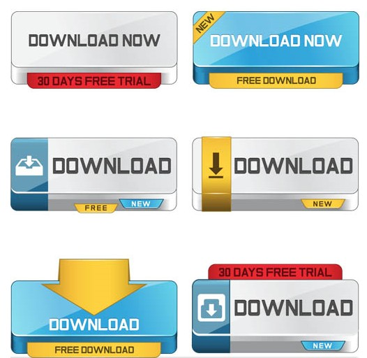 Download Color Buttons vector