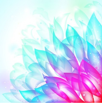 Dream Flower Background vector