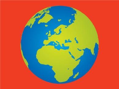 Earth vectors material