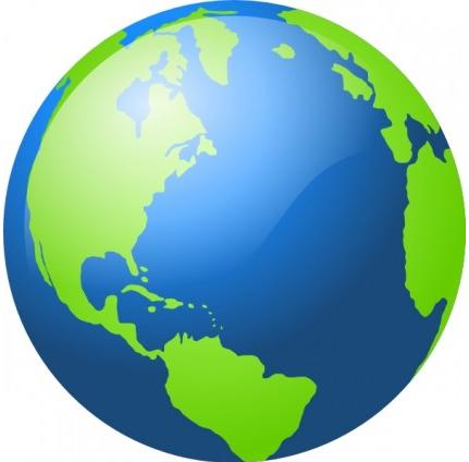 Earth clip art vector