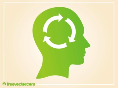 Ecological Thinking vector