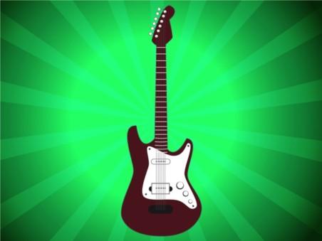 Electric Guitar design vectors