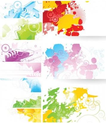 Elegance banner creative vector