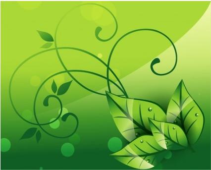 Elegant Nature Background art vector graphics