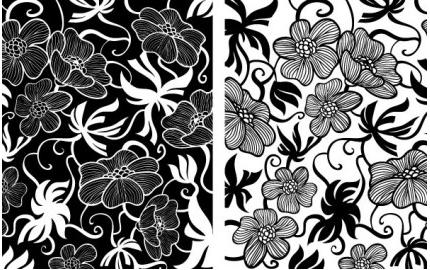 European Deco Floral design vector