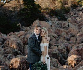Exterior wedding photo photography Stock Photo