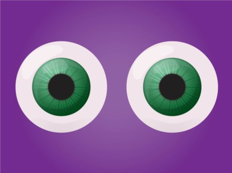 Eyes creative vector