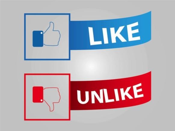 Facebook Buttons vector