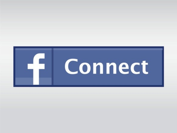 Facebook Connect Button vector