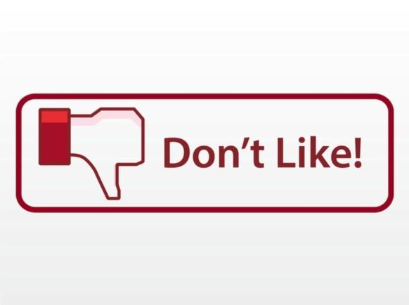Facebook Dislike Button vectors