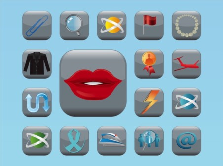 Fancy Icons Vector