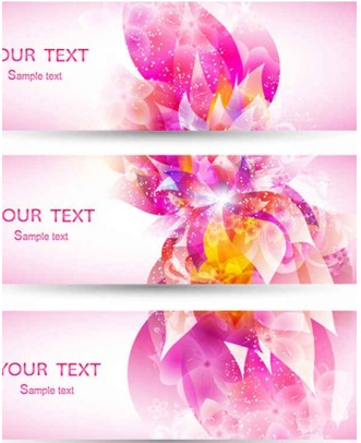 Fantasy Purple flowers background art creative vector