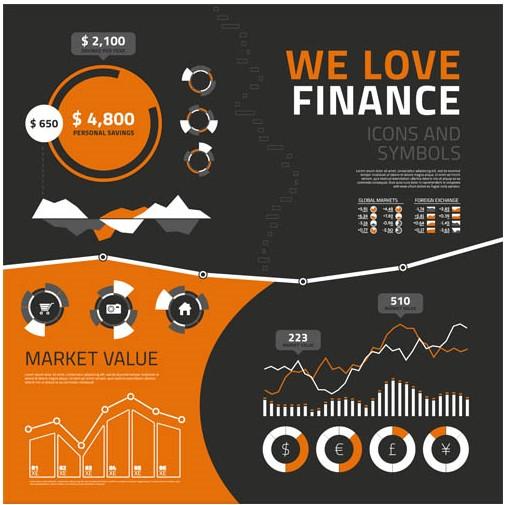 Finance Icons design vector