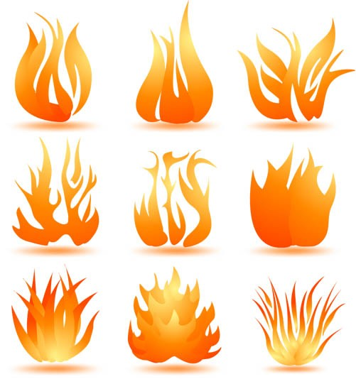 Fire Logotypes vector