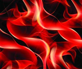 Fire wavy background vector