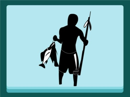 Fishing Man design vector