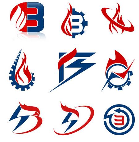 Flame Logotypes vectors graphics