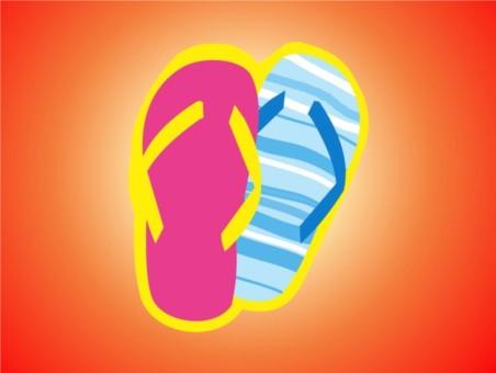 Flip Flops design vectors