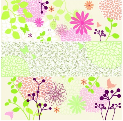 Floral Background graphic vector