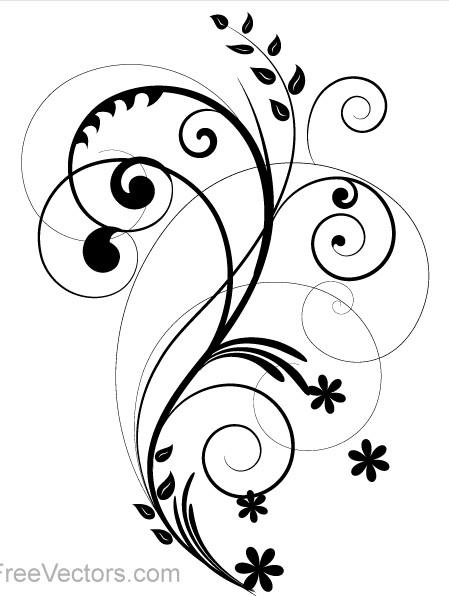 Floral Design 2 vector