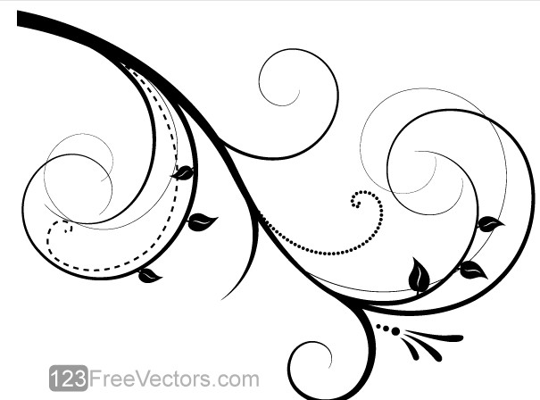 Floral Design graphic vector