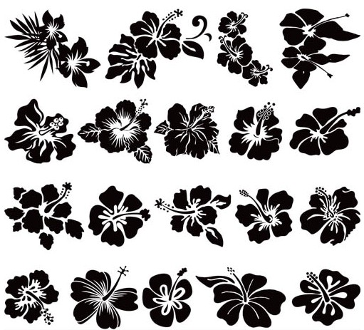 Floral Elements (Set 18) vector
