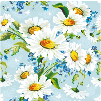 Floral Flowers Background vector