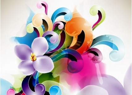 Floral Ornament Illustration vector