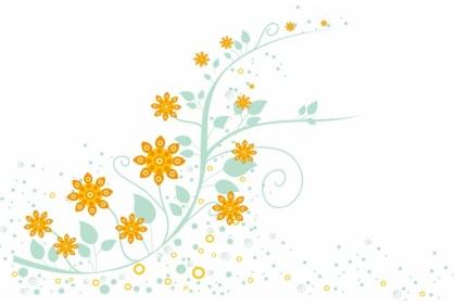 Floral Ornament graphic design vectors