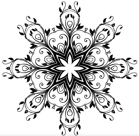 Floral Ornate Decorative vector