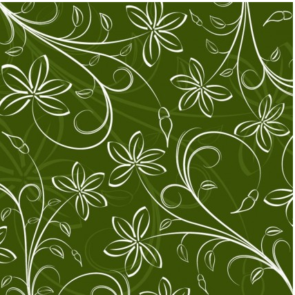 Floral Pattern Background vectors material