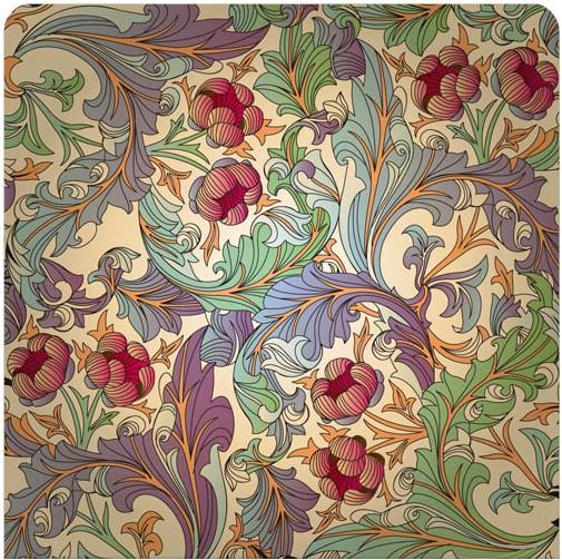 Floral Patterns Vectors