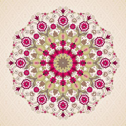Floral patterns 2 vector