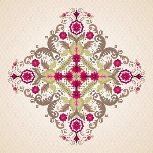 Floral patterns 3 vector
