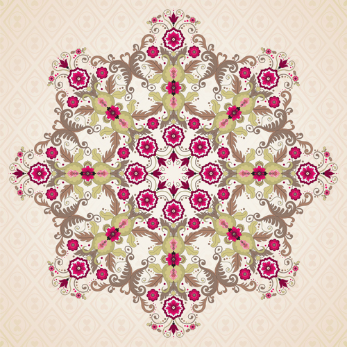Floral patterns 6 vector