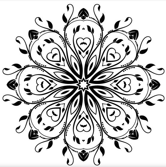 Flourish Ornament Design creative vector