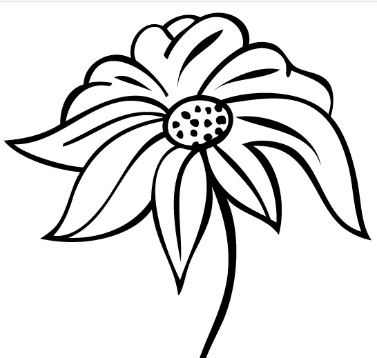 Flower Design Art vector