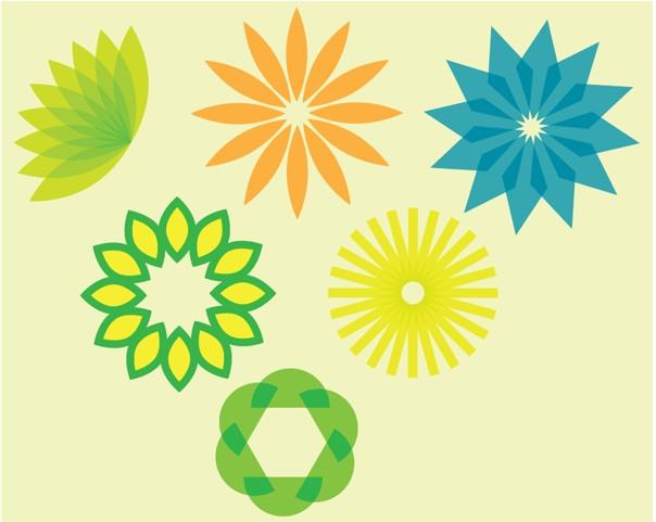 Flower Designs graphic vector